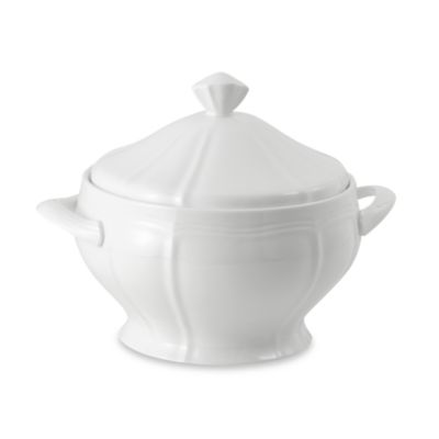 Mikasa® Antique White 68-Ounce Covered Casserole Dish