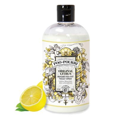 Buy poo pourri before you go 16 oz toilet spray in lavender vanilla from bed bath beyond for Poo pourri before you go bathroom spray