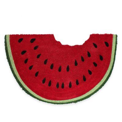 Watermelon 28-Inch x 18-Inch Door Mat