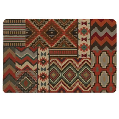Laural Home® Country Mood Navajo Pet Mat