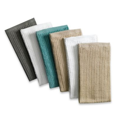 Real Simple® 6-Pack Antimicrobial Bar Mop Kitchen Towels in Multi