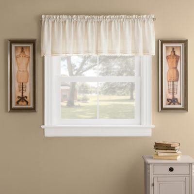 Sandie Window Valance in Linen