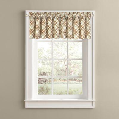 Plaid Window Valances