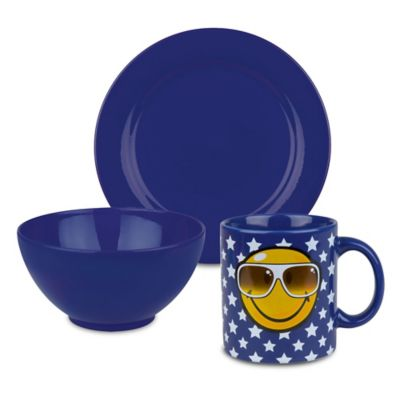 Blue Breakfast Set