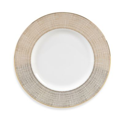 Vera Wang Wedgwood® Gilded Weave 9-Inch Accent Plate