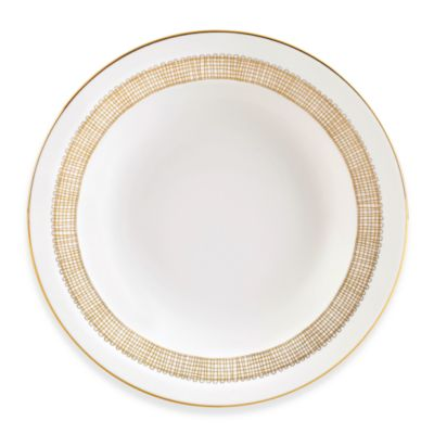Vera Wang Wedgwood® Gilded Weave 9-Inch Rim Soup