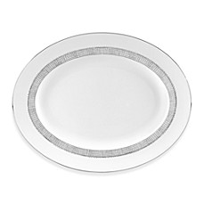 Vera Wang Wedgwood® Gilded Weave 13 1/2-Inch Oval Platter
