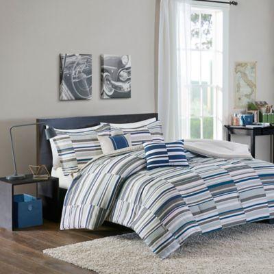 Blue Designer Comforter Set