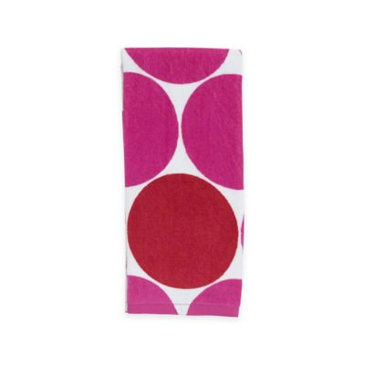 kate spade new york Deborah Dot Terry Kitchen Towel in Pink