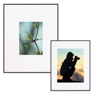 Artcare™ 5-Inch x 7-Inch Picture Frame in Black