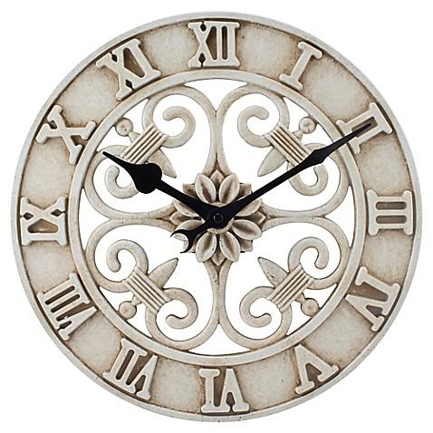 Buy 14 Inch Cast Iron Indoor Outdoor Round Wall Clock In