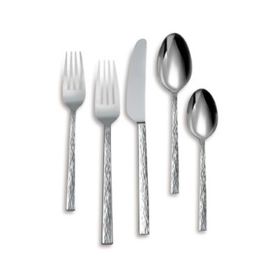 Vera Wang Wedgwood® Hammered 5-Piece Flatware Place Setting