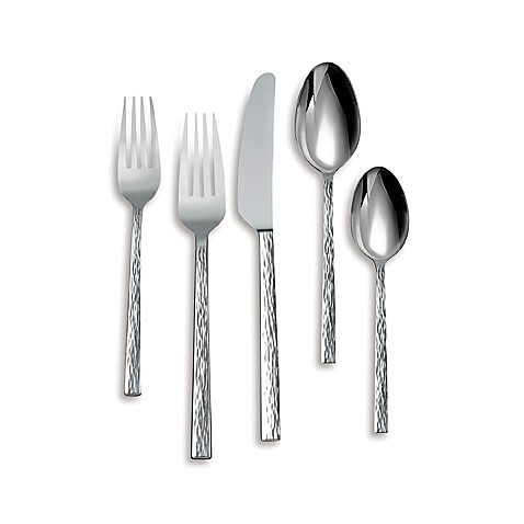 Buy Hammered Flatware from Bed Bath & Beyond