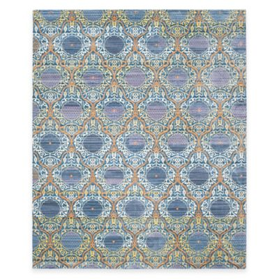 Safavieh Valencia Mirrors 8-Foot x 10-Foot Area Rug in Lavender/Gold