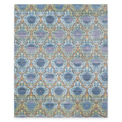 Safavieh Valencia Mirrors 9-Foot x 12-Foot Area Rug in Lavender/Gold