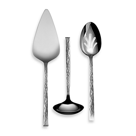 Vera Wang Wedgwood® Hammered 3-Piece Serving Set