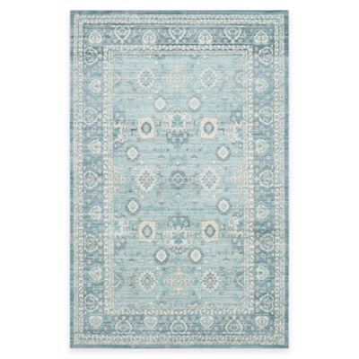 Safavieh Valencia Border 2-Foot 3-Inch x 8-Foot Runner in Alpine/Multi