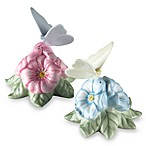 Lenox® Butterfly Meadow® 3 1/4-Inch H x 3 3/4-Inch W Figural Salt and Pepper Set