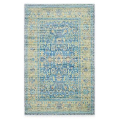 Safavieh Valencia Bronn 5-Foot x 8-Foot Area Rug in Grey/Multi