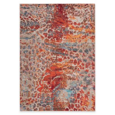 Safavieh Valencia Multicolor Spotted 4-Foot x 6-Foot Area Rug