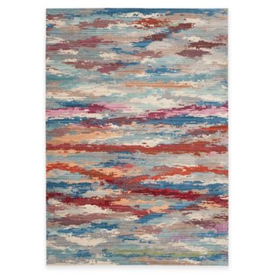 Safavieh Valencia Watercolor Multicolor 8-Foot x 10-Foot Area Rug