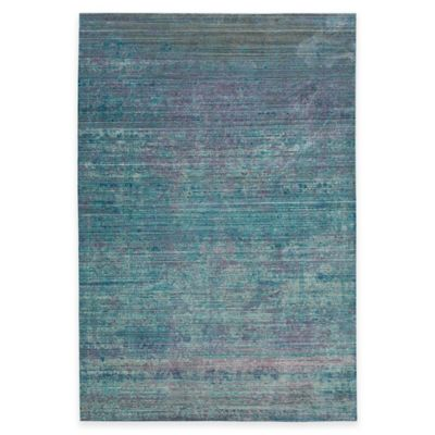 Safavieh Valencia Dove 4-Foot x 6-Foot Area Rug in Turquoise/Multi
