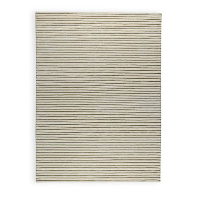 M.A. Trading Goa 6-Foot 6-Inch x 9-Foot 9-Inch Area Rug in White