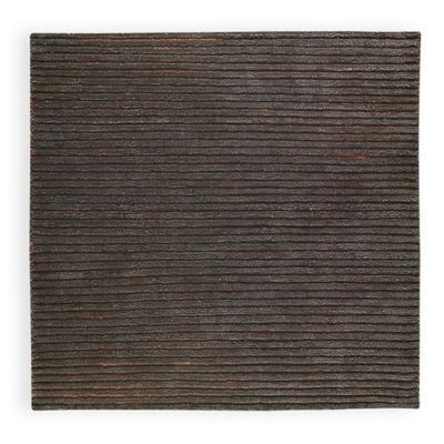 M.A. Trading Goa 6-Foot 6-Inch x 9-Foot 6-Inch Area Rug in Grey