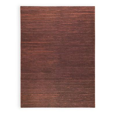M.A. Trading Goa 6-Foot 6-Inch x 9-Foot 9-Inch Area Rug in Brown
