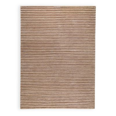 M.A. Trading Goa 6-Foot 6-Inch x 9-Foot 9-Inch Area Rug in Beige