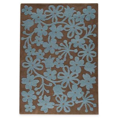 M.A. Trading Newport 8-Foot 3-Inch x 11-Foot 6-Inch Area Rug in Grey/Turquoise