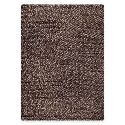 Omega 8-Foot x 10-Foot Area Rug in Chocolate