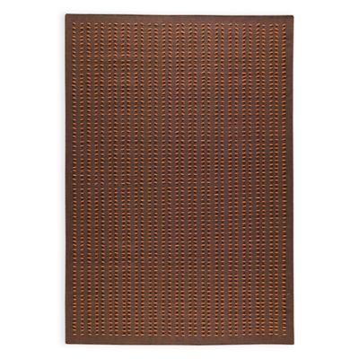 M.A. Trading Palmdale 6-Foot 6-Inch x 9-Foot 9-Inch Area Rug in Brown