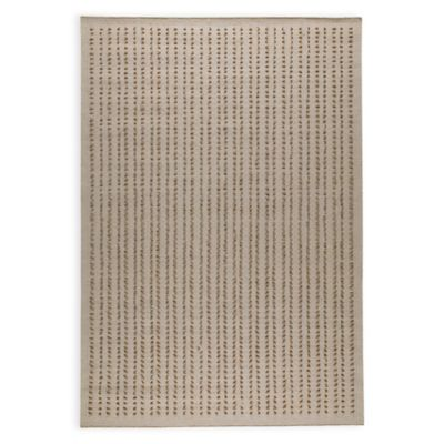 M.A. Trading Palmdale 6-Foot 6-Inch x 9-Foot 9-Inch Area Rug in Beige