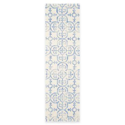 8 x 8 Safavieh Blue Ivory Rug