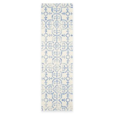 2 3 Blue Ivory Rug
