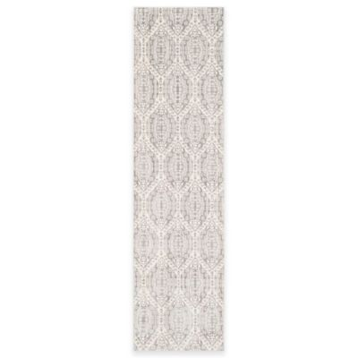 Safavieh Valencia Damask 2-Foot 3-Inch x 12-Foot Runner in Mauve/Cream