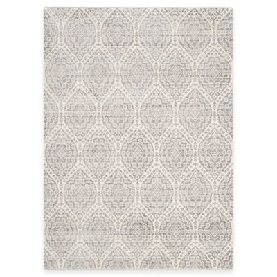Safavieh Valencia Damask 8-Foot x 10-Foot Area Rug in Alpine/Cream