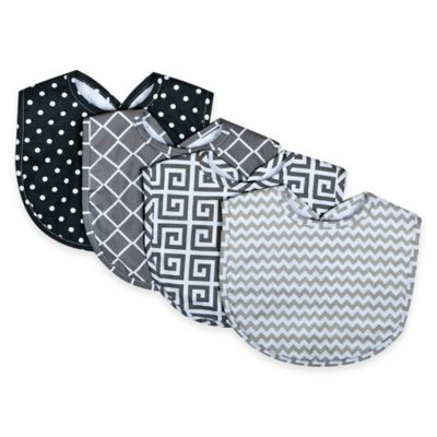 Grey Bib Set