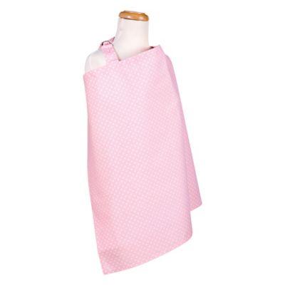 Trend Lab® Pink Sky Dot Nursing Cover