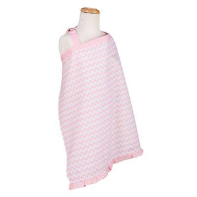 Trend Lab® Pink Sky Chevron Nursing Cover