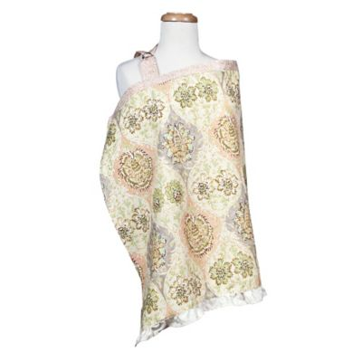 Cream Multi Nursing Cover