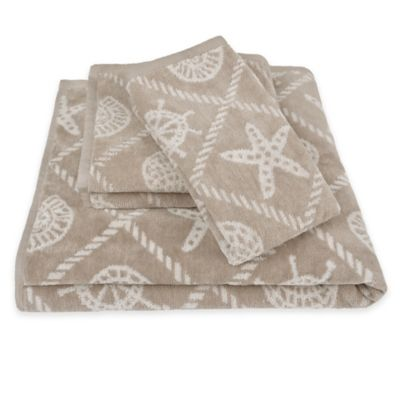 Lamont Home® Coastal Trellis Bath Towel