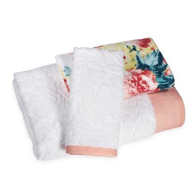 Penelope Hand Towel in Rose