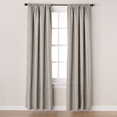 Westchester 63-Inch Room-Darkening Rod Pocket/Back Tab Window Curtain Panel in Spa