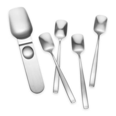 Yamazaki® Bolo 5-Piece Ice Cream Spoon and Scoop Set