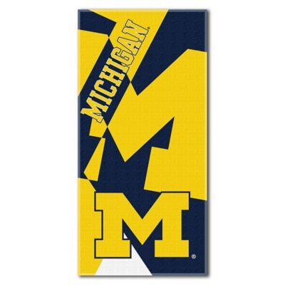 University of Michigan Beach Towel