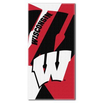 University of Wisconsin Beach Towel