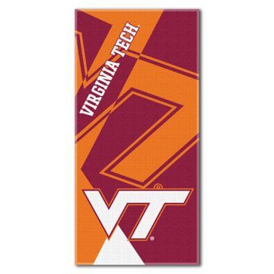 Virginia Tech Beach Towel