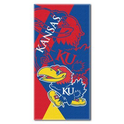 University of Kansas Beach Towel